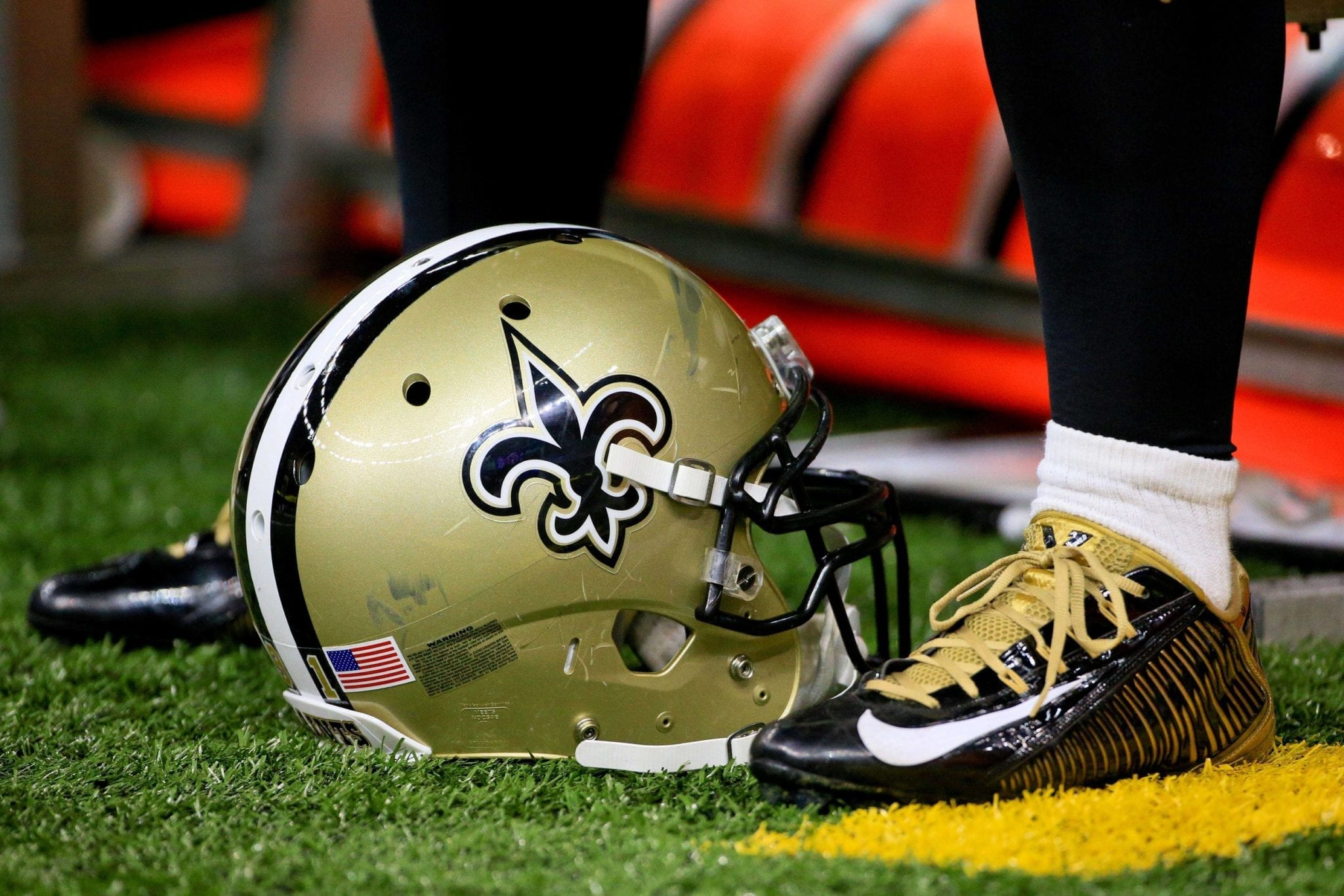 Saints Helmet