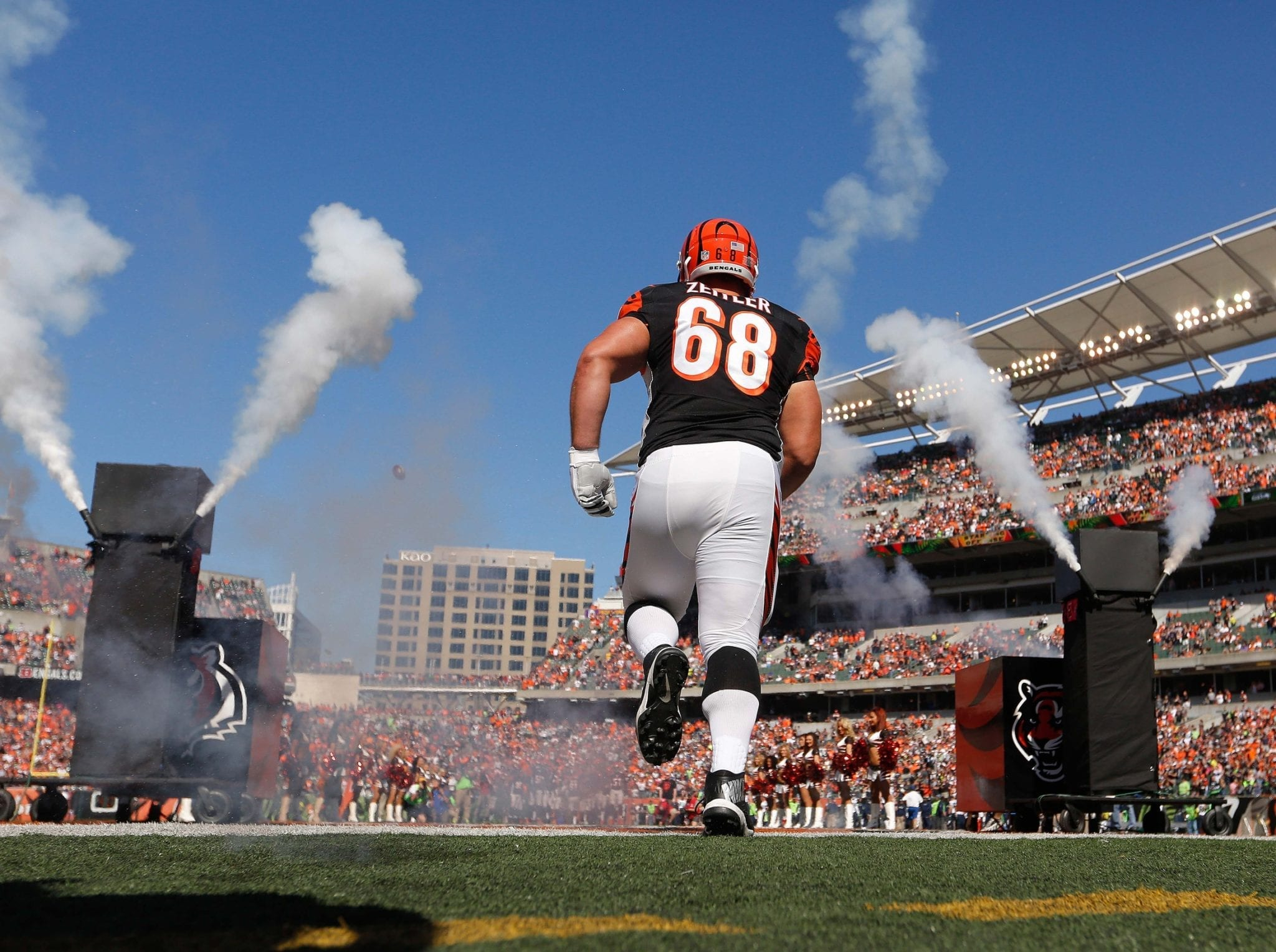 Browns Signing G Kevin Zeitler To Five Year $60M Deal