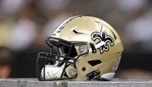 Saints Helmet