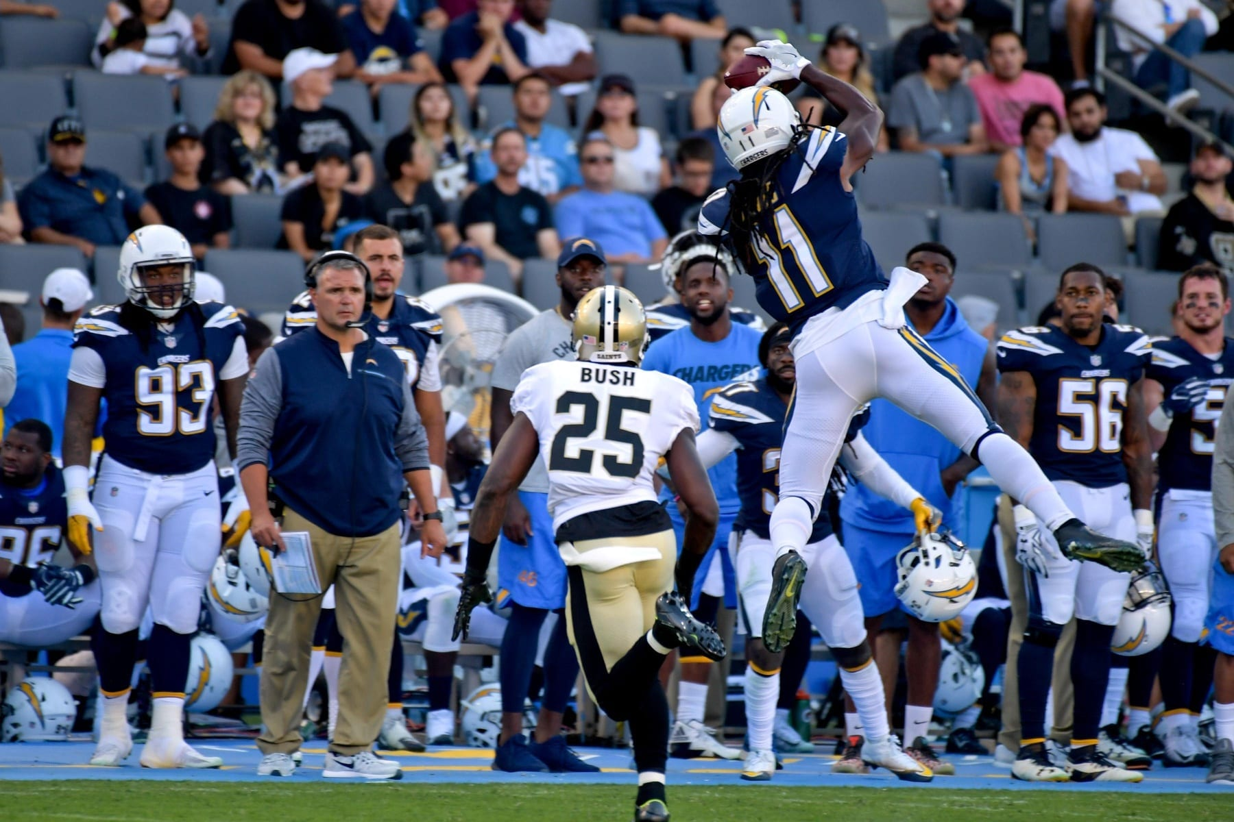 Chargers Promote WR Geremy Davis, Re-Sign C Max Tuerk To ...