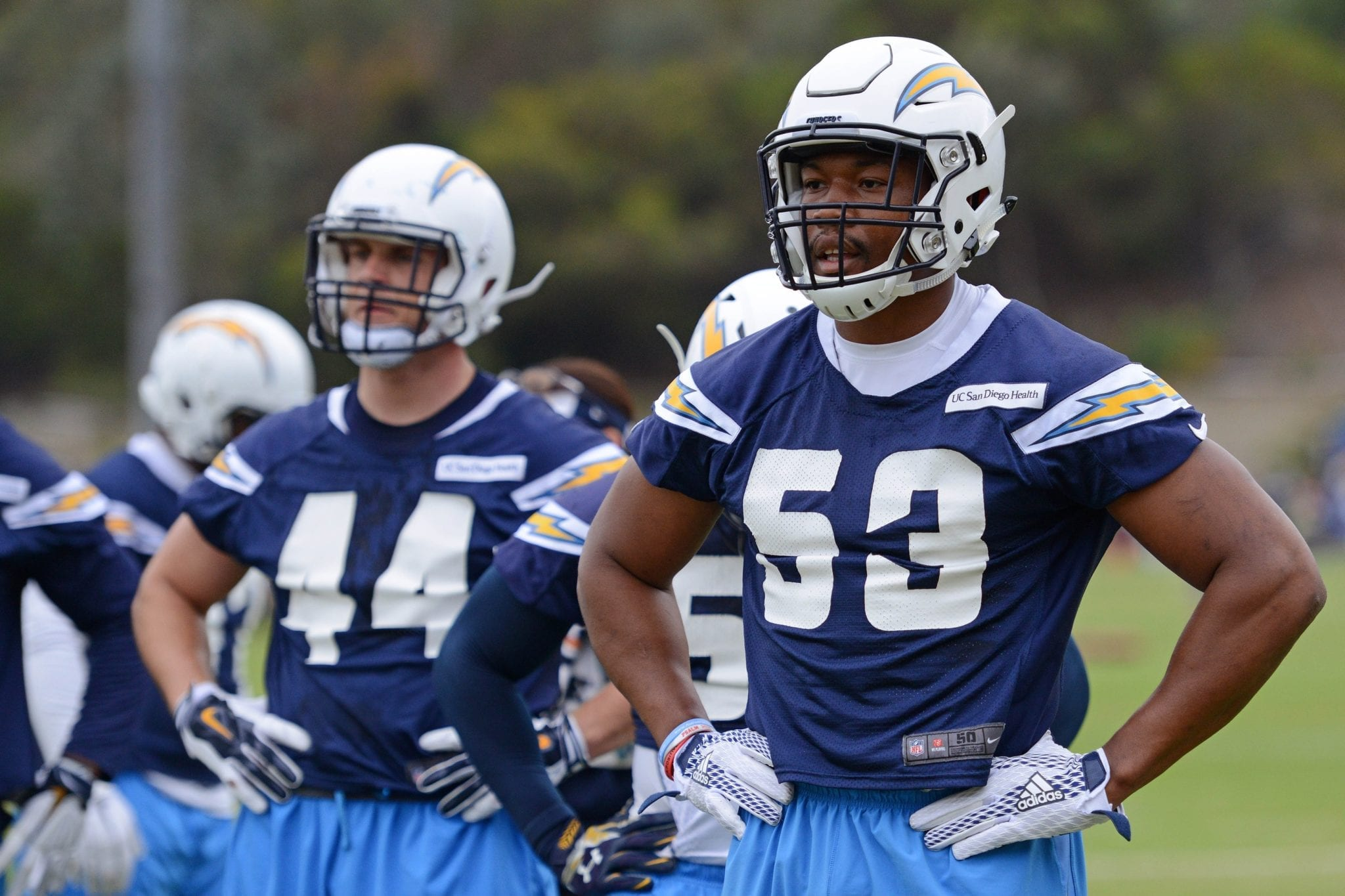 Colts Promote Olb Joshua Perry Waive Te Henry Krieger