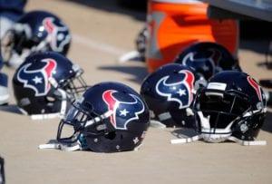 Texans Helmets