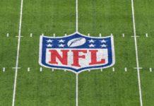 NFL logo field