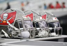 Buccaneers Helmets