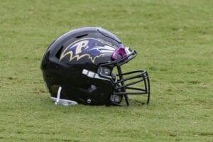 Ravens helmet