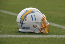Chargers Helmet