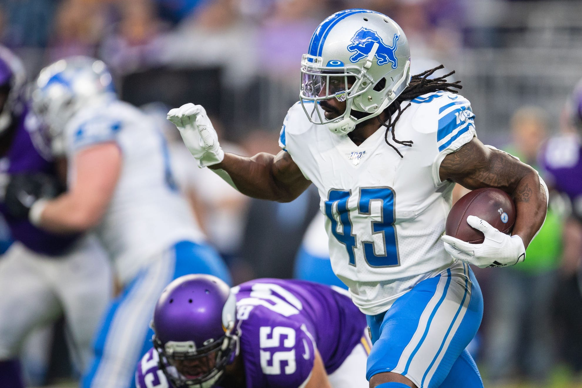 Seahawks Trying Out RB Bo Scarbrough ...