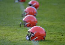 Browns Helmets