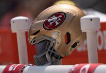 49ers Helmet