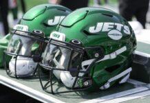 Jets helmet